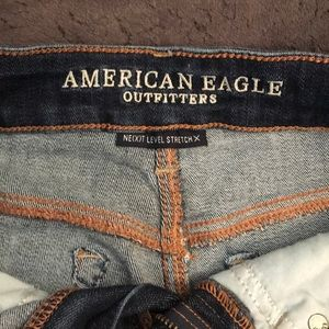 American Eagle Outfitters Shorts - Midi Jean Shorts